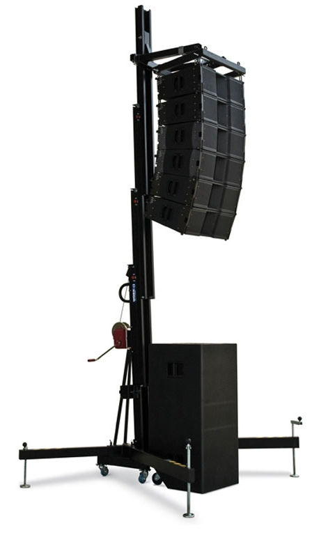 Line array tower